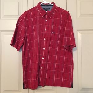 Vintage 90's Tommy Jeans Button-Down Shirt Size XL